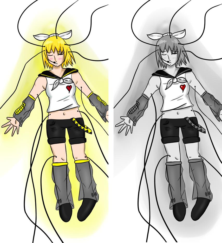 Kokoro No Kiseki comparison by HoneyMochaCat