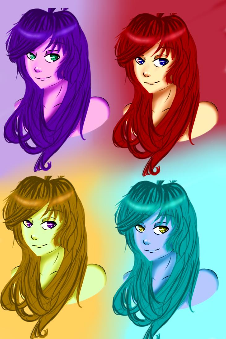 Multiple Personalities by HoneyMochaCat