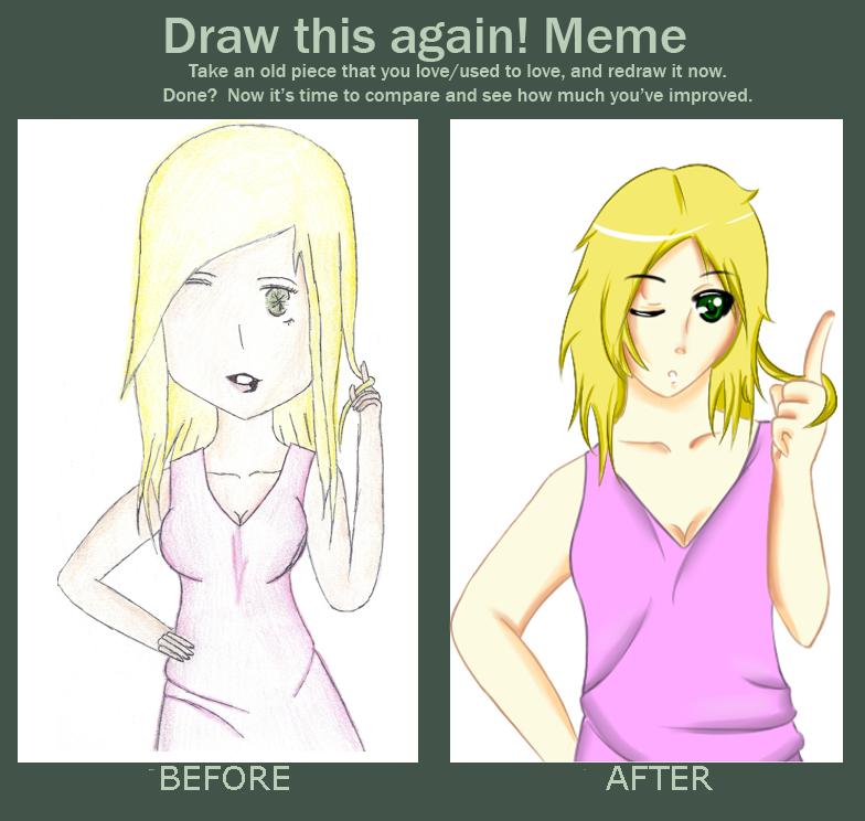 Mio: Draw it Again by HoneyMochaCat