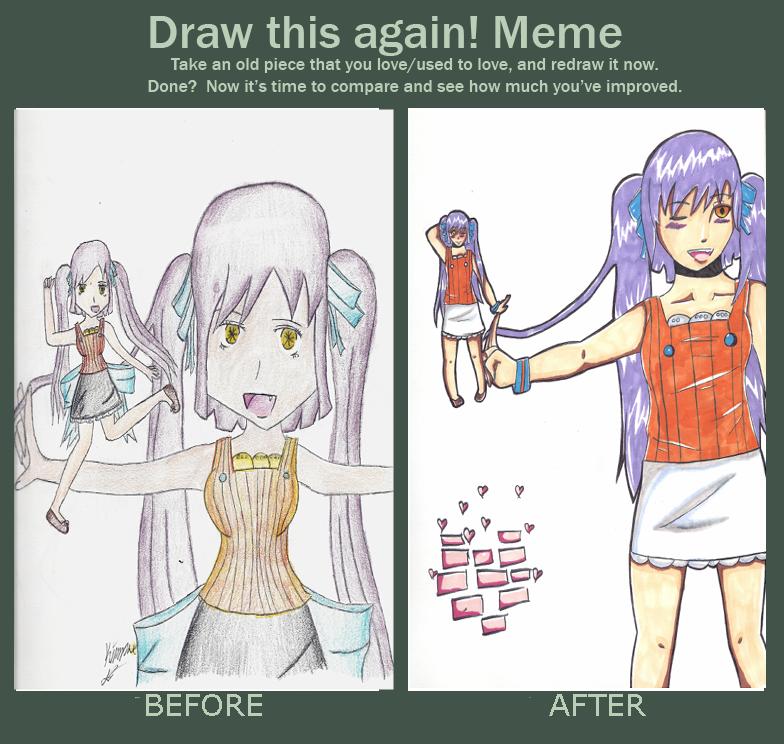 I drew it again by HoneyMochaCat