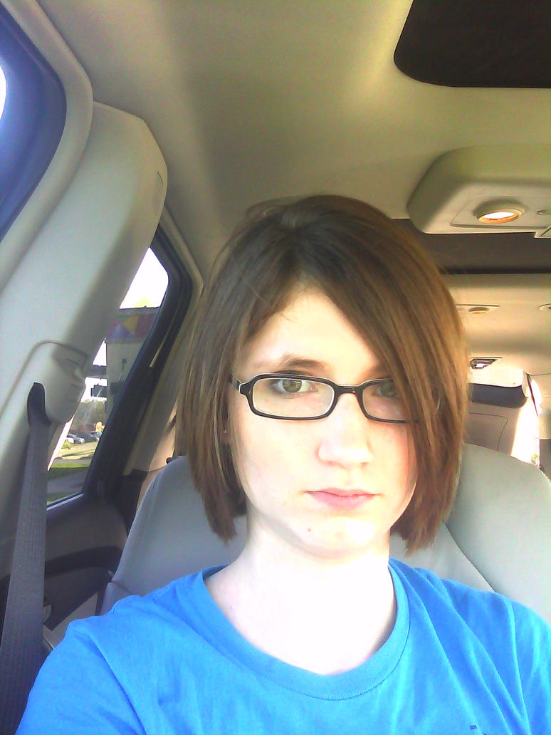 My new hair by HoneyMochaCat
