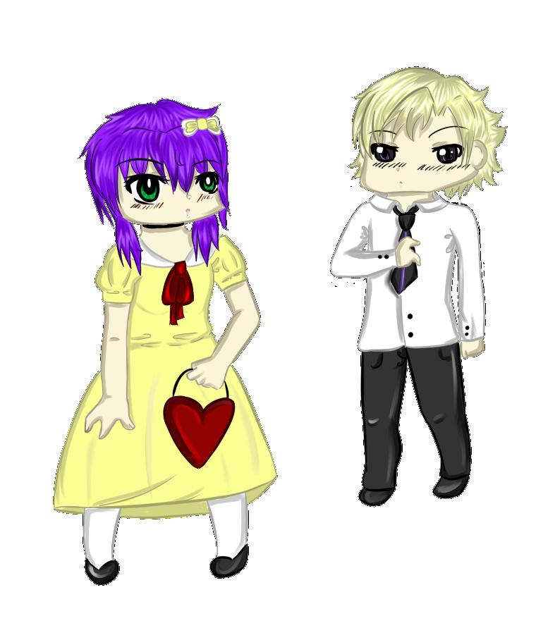 Tamaki and Shika Commission by HoneyMochaCat