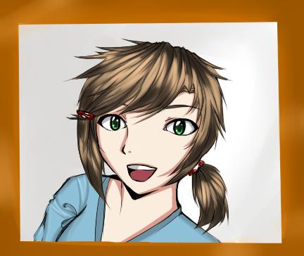 Self-Portrait by HoneyMochaCat