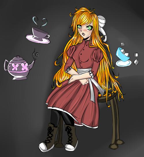Tea Time by HoneyMochaCat