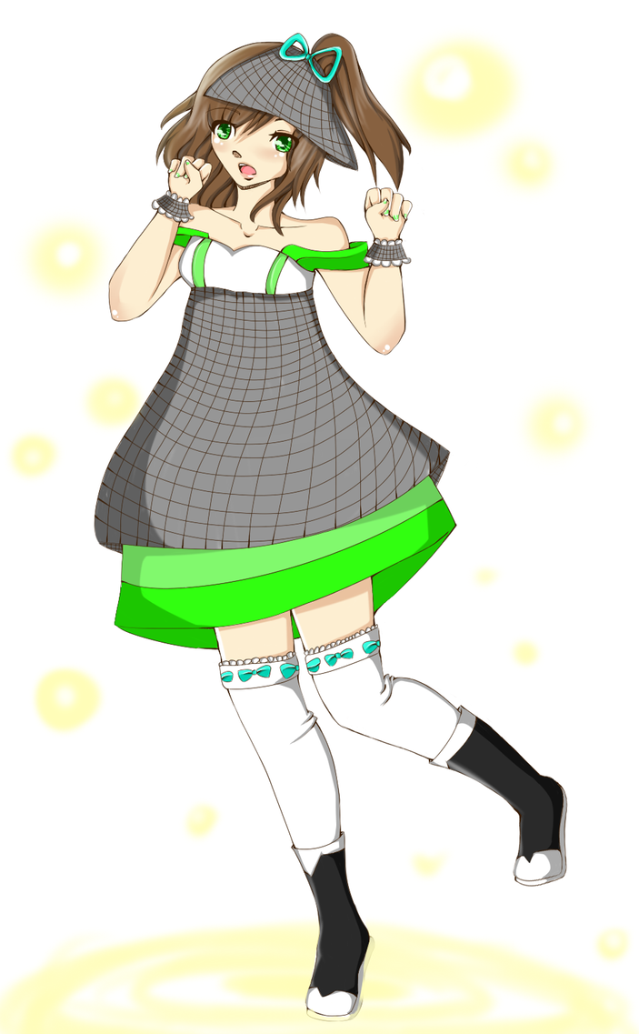 Magical Girl Kimi! by HoneyMochaCat