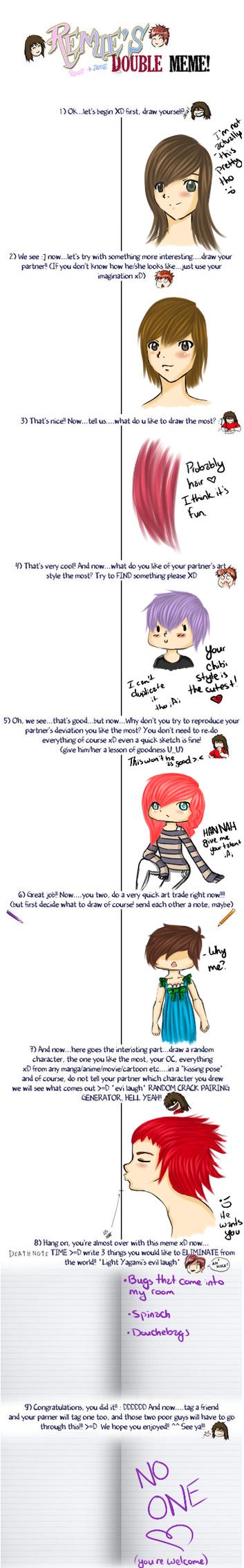 Meme with Hannah by HoneyMochaCat