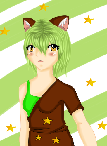 Nina Commission by HoneyMochaCat
