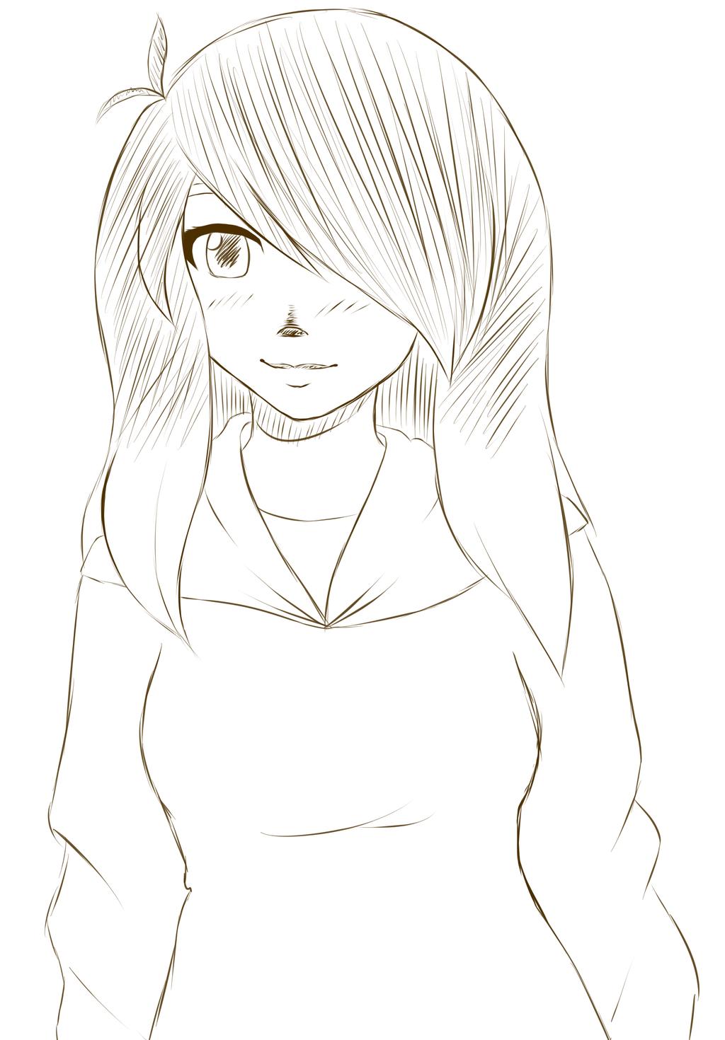 Free Sketch #10 by HoneyMochaCat