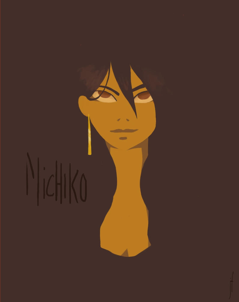 Michiko by nerdywarriorprincess