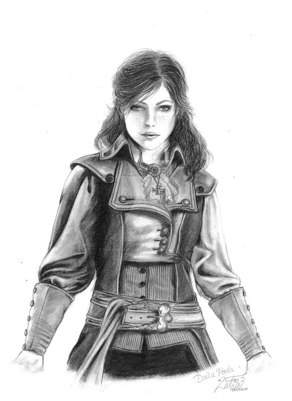 Drawing D Lines In Unity : Elise de la serre assassin s creed unity by thenightbeforelast on deviantart