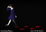 -Walking alone again-