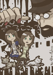 -Alice Madness Returns Poster- by Frandoll-Scarlet