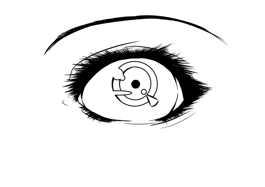 Line Art Eye : Eye lineart by itaslipy on deviantart