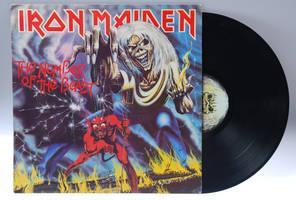 Iron Maiden Vinyl by bm102938