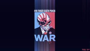 Five Finger Death Punch WAR - Wallpaper Edit