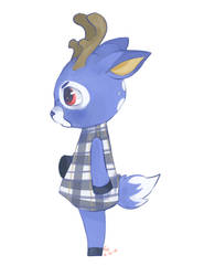 Animal Crossing - Bam by LongAssDeerLegs