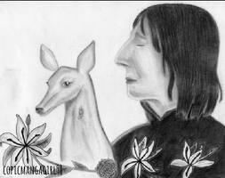 Severus Snape/Alan Rickman Tribute Drawing