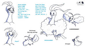 White Clouds page 3