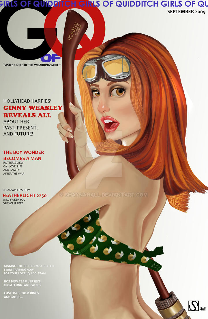 PIN UP- Ginny Weasley by shaynahall