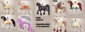 Horse Adopts (free except for one)