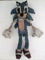 Our First Homemade Sonic The Hedgehog Plush Toy by KambalPinoy