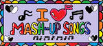 I Love Mash-Up Songs Stamp by KambalPinoy