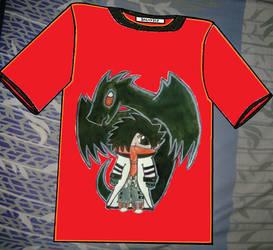 A Chibi Calin and Salvy T-Shirt by KambalPinoy