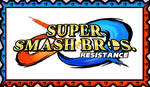 Super Smash Bros. Resistance Fan Stamp by KambalPinoy
