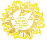 RA THE GOLDEN GRIFFIN WARRIOR Logo