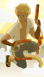 RWBY: Sun Tarot WIP by EranthyaeNoire