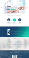 Good to Go single page PSD template by GraphicsBayResources