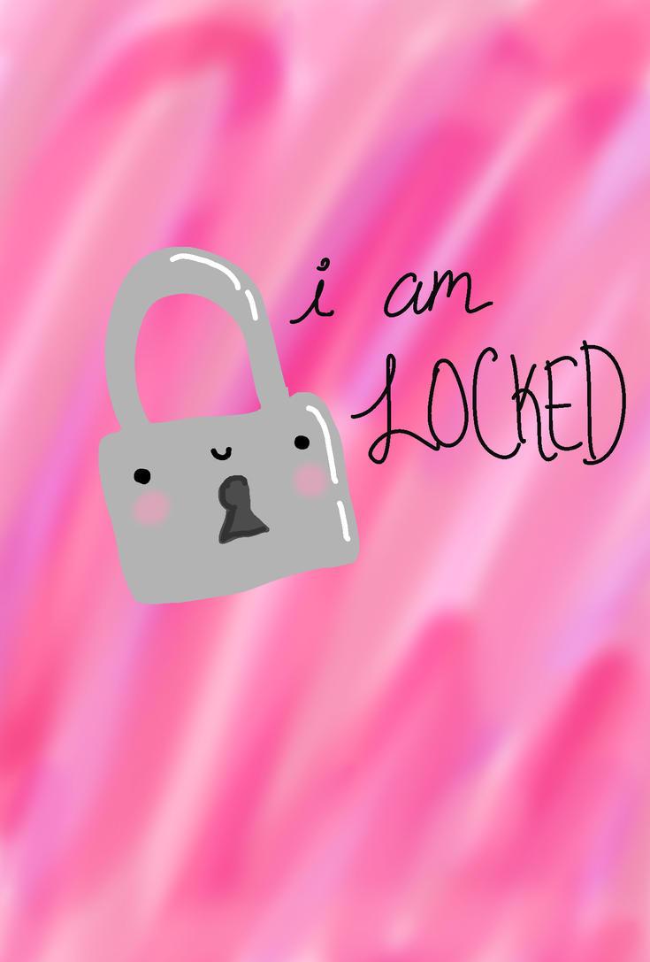 i am locked iphone wallpaper by kissofvictoria on deviantart