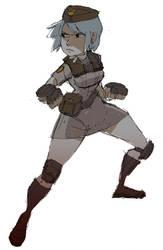 Soldier's uniform CPT: Sonya by YanYu