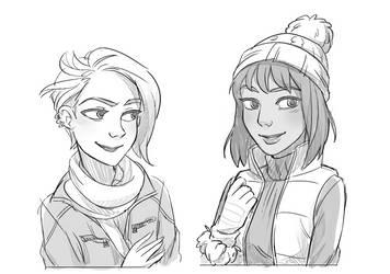 Sid and Erin by YanYu