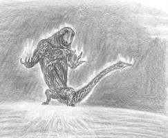 Fire Demon on Fire