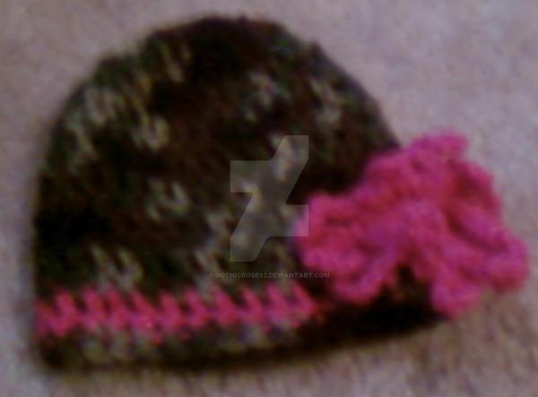 Hot Pink Camo Tennis Shoes