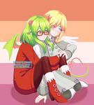[Fanart] Frozefire Couple
