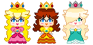 The Mario Girls by PrincessArtist2009