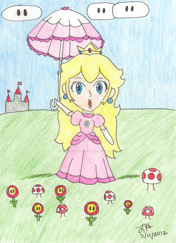Throwback Thursday - Peach's Parasol by PrincessArtist2009
