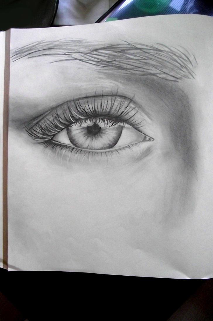 Eye practice 2 by Wildlioness3