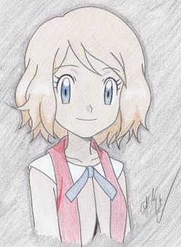 Pokemon XY - Serena Colored