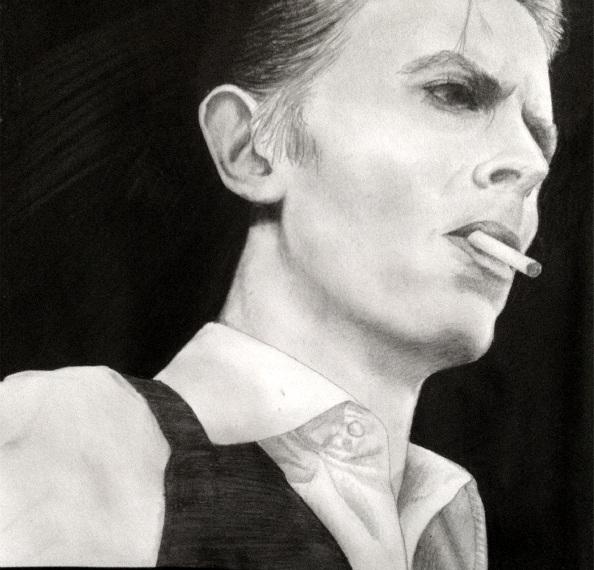David Bowie by xMalfoy97