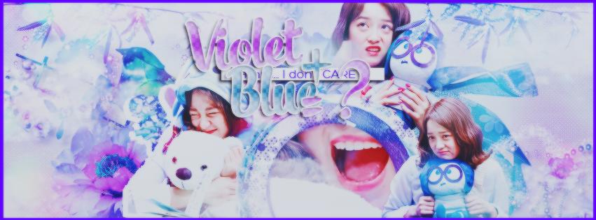 Cover Violet + Blue = ? by Phtruongyen102