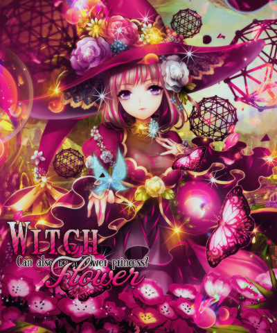 Cover Witch Flower by Phtruongyen102