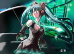 Hatsune Miku 'A' by MaTTheW-wong