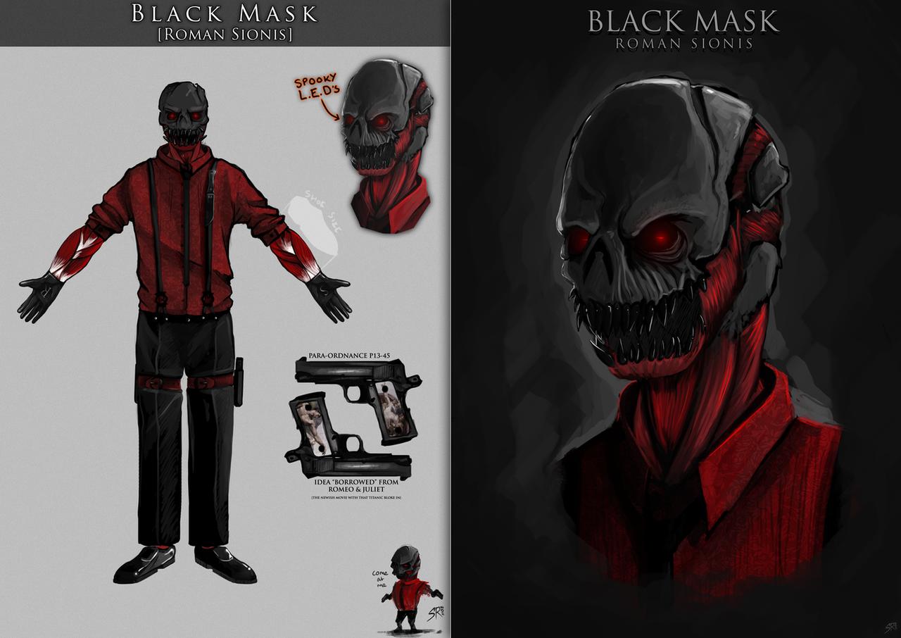 Best Sheets To Stay Cool Black Mask Redesign By Sam Reynolds On Deviantart