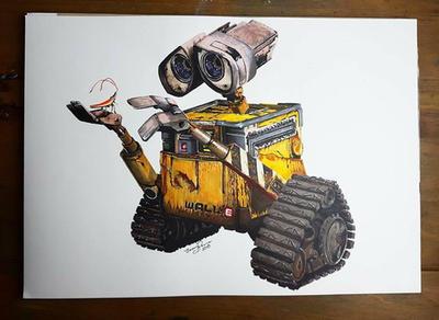 Wall-e by JenJensketches