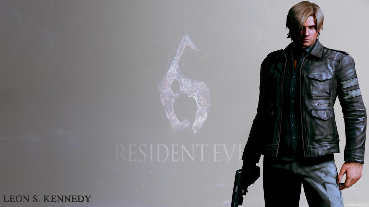 Leon Resident Evil 6 W...