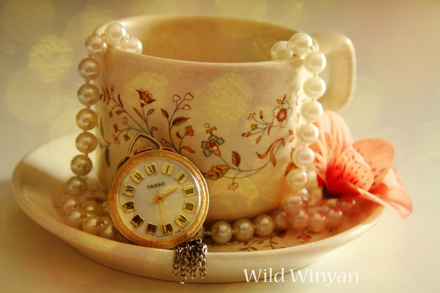 Tea and Pearls by WildWinyan