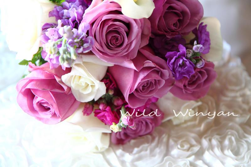 Her Bouquet by WildWinyan